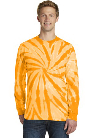 Port & Company (R) Essential Tie-Dye Long Sleeve Tee