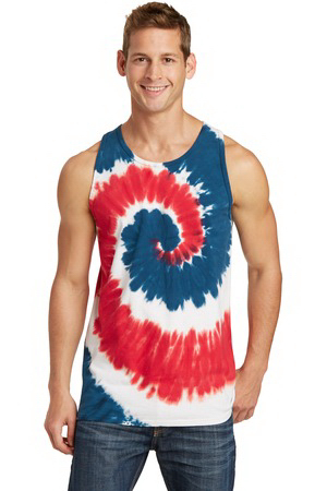 Port & Company (R) Essential Tie-Dye Tank Top