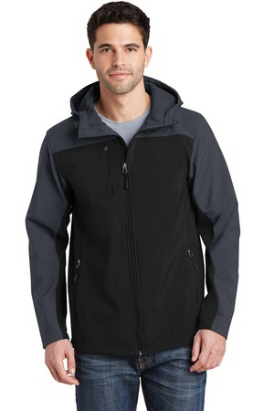 Port Authority (R) Hooded Core Soft Shell Jacket