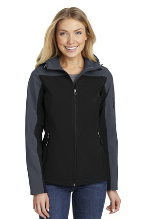 Port Authority (R) Ladies' Hooded Core Soft Shell Jacket