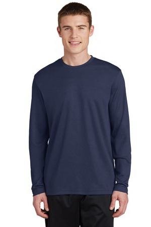 Sport-Tek (R) PosiCharge (TM) RacerMesh (TM) Long Sleeve Tee