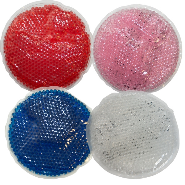 Large Circle Gel Bead Hot/Cold Pack