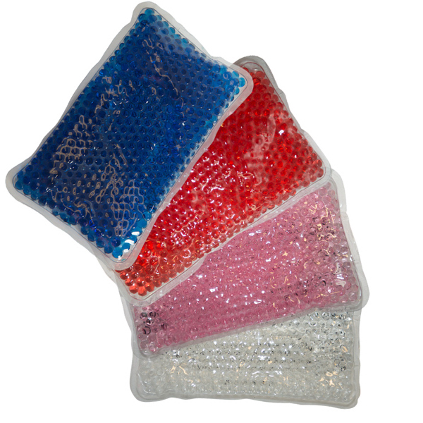 Plush Rectangle Gel Bead Hot/Cold Pack