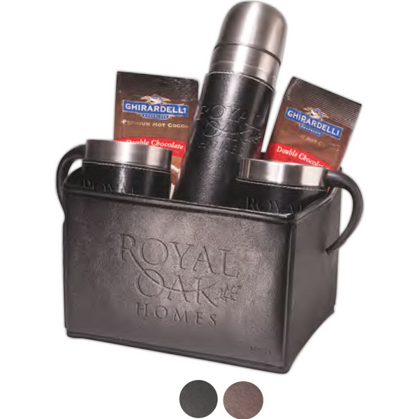 Empire (TM) Thermos & Cups Ghirardelli (R) Cocoa Set