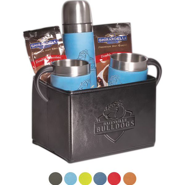 Tuscany (TM) Thermos & Cups Ghirardelli (R) Cocoa Set