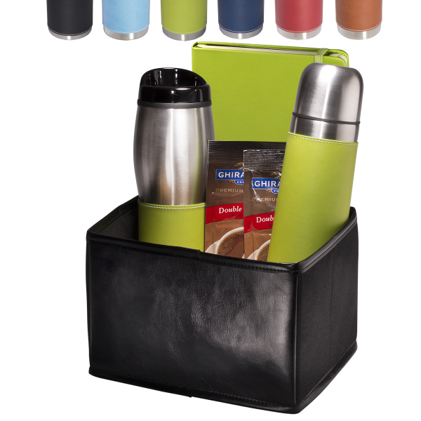 Tuscany (R) Thermos, Tumbler & Journal Ghirardelli Gift Set