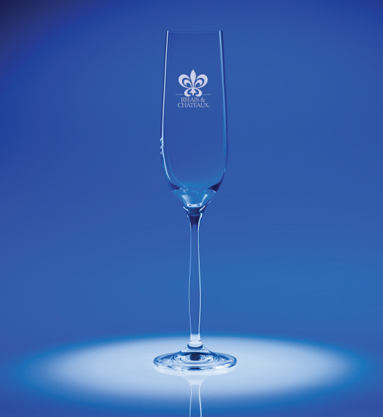Bella Flute 6 oz. Crystal Glass