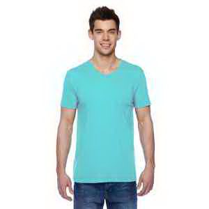 4.7 oz. 100% Sofspun (TM) Cotton Jersey V-Neck T-Shirt