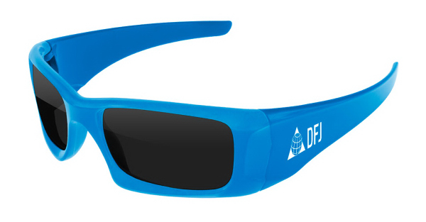 Sport Sunglasses with Arm Imprint