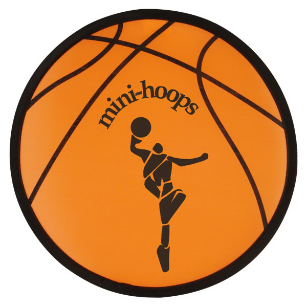 "Sport 10"" Folding Flyer-Basketball"