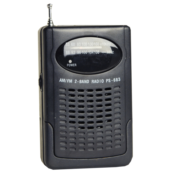 Handheld Compact AM/FM Radio