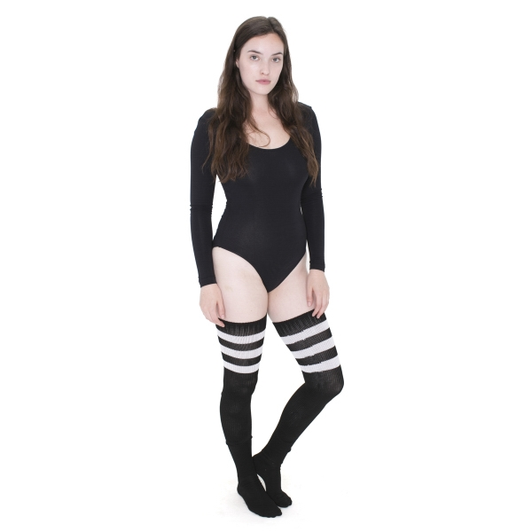 Stripe Thigh-High Sock
