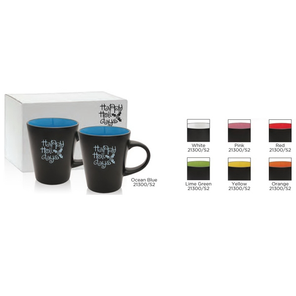 Noir Collection Comfort Mug Gift Set