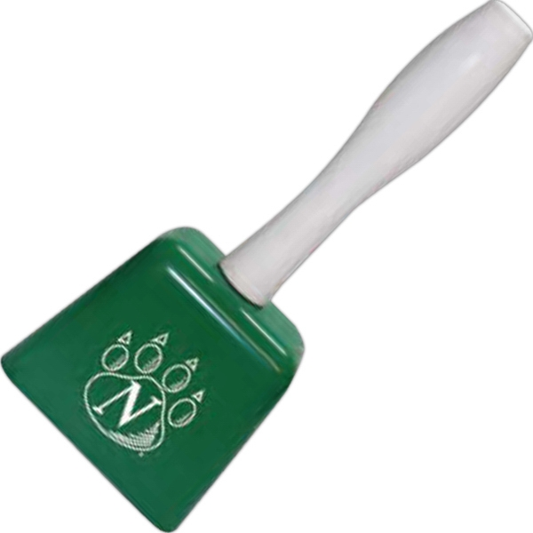 Green Cowbell With Handle