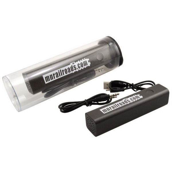 Tube w/ Bluetooth Speaker Power Bank