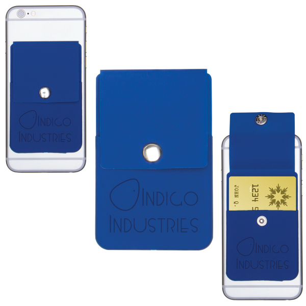 Snap Cell Phone Card Holder USimprints