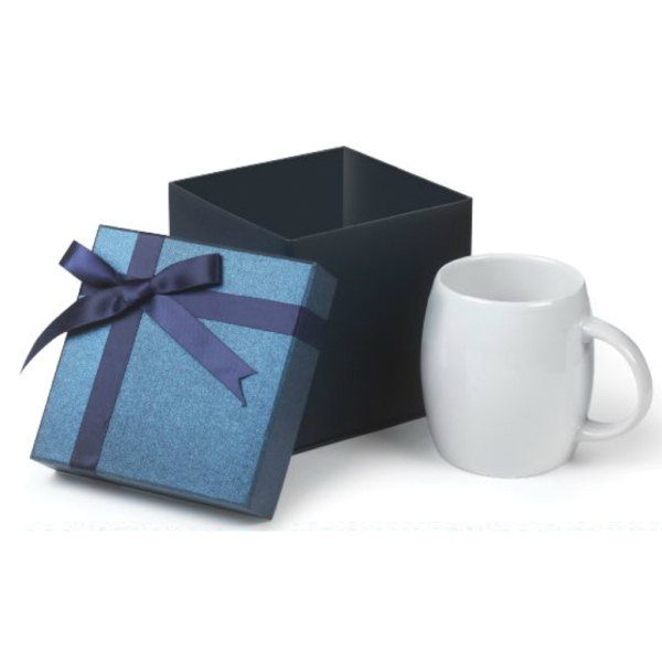 14 oz. Rotunda Ceramic Mug Small Box Gift Set