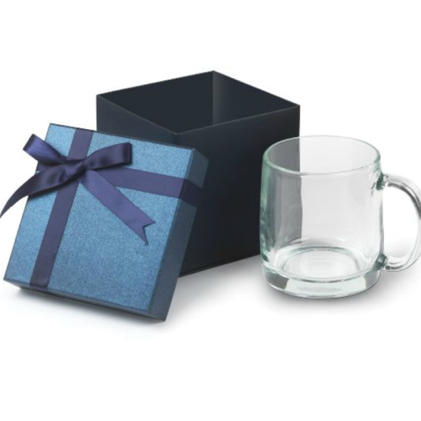 13 oz. Nordic Glass Mug Small Box Gift Set