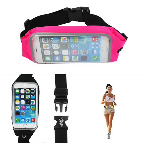 "6"" Waterproof Mobile Phone Fanny Pack"