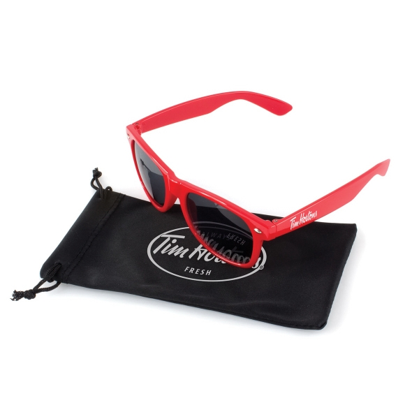 Sunglasses with Microfiber Pouch