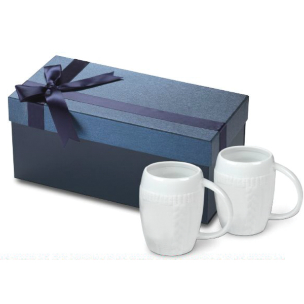 16 oz. Matte Ceramic Sweater Mug Medium Box Gift Set