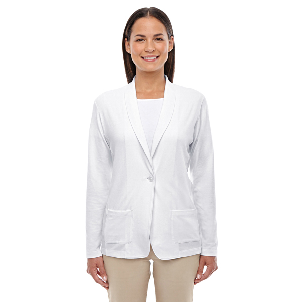 Devon & Jones Ladies' Perfect Fit Shawl Collar Cardigan