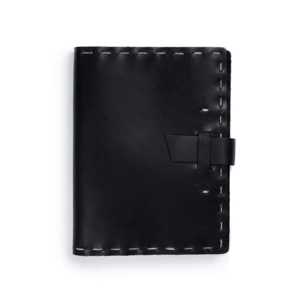 Switchback Notebook w/Buckle Hand-sewn Dot Grid