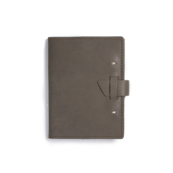 Wasatch leather notebook Dot Grid