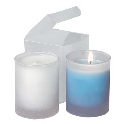 3 oz Frosted Votive Candle in Gift Box