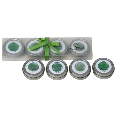 HERB GARDEN CANDLE SET
