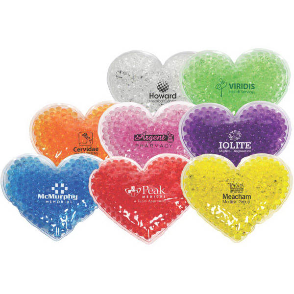 Heart Aqua Pearls Hot/Cold Pack (FDA approved, Pass TRA)