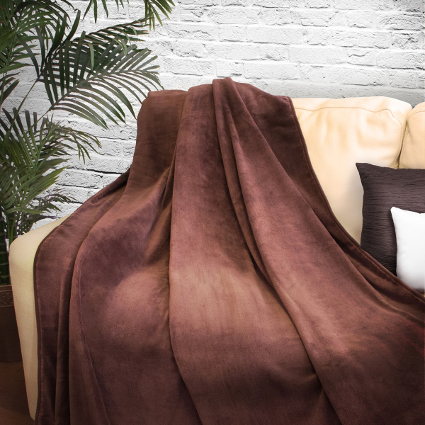 2-Person Coral Fleece Blanket