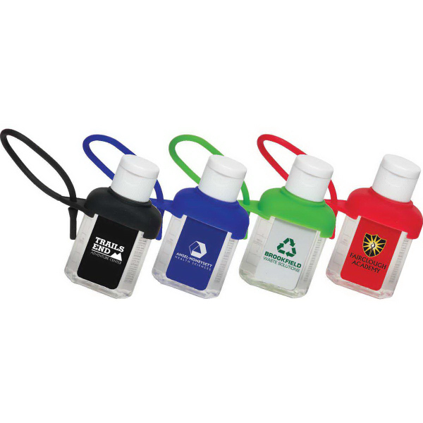 Caddy Strap One Ounce Alcohol Free Hand Sanitizer