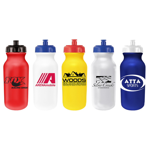20 oz. Value Cycle Bottle with Push n' Pull Cap