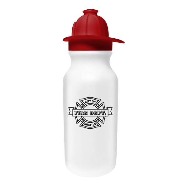 20 oz. Value Cycle Bottle with Fireman Helmet Cap