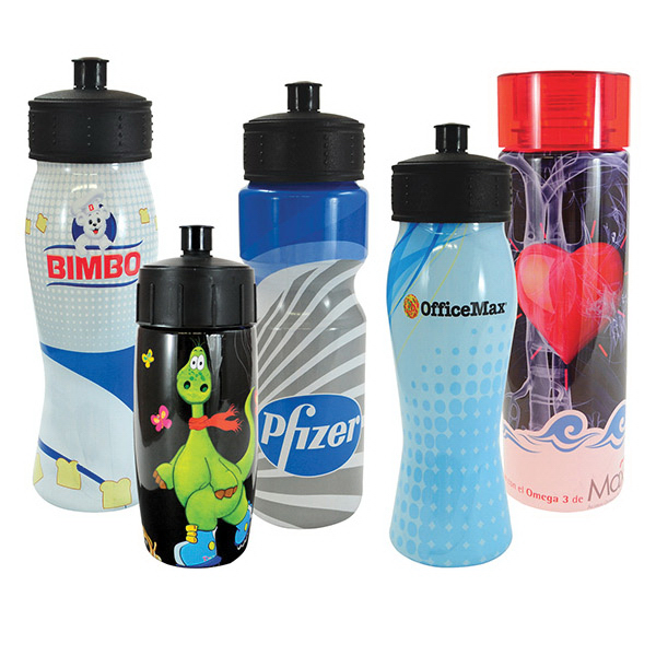 Custom 2drink (R) Full Color Wrap Water Bottle