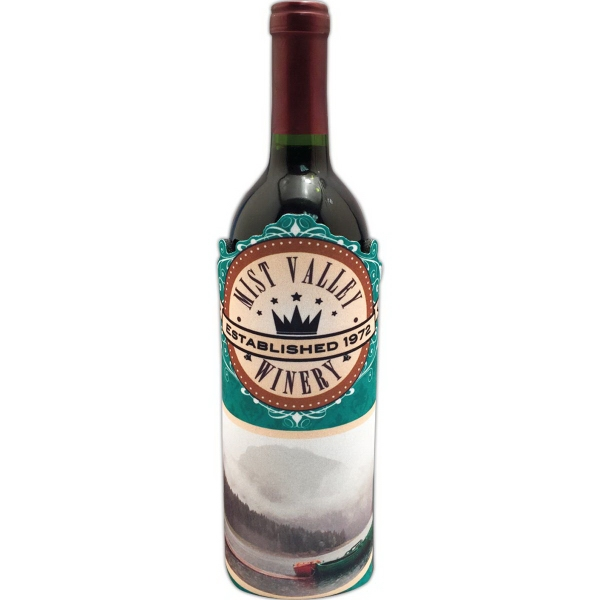 Custom Wine Bottle Hugger