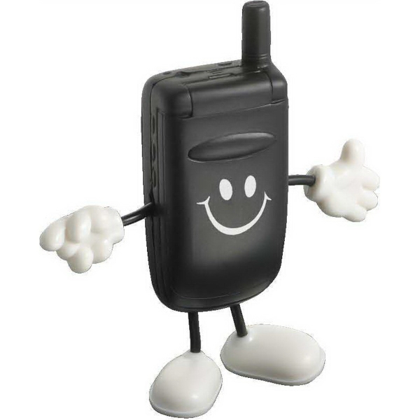 Cell Phone Figure Stress Reliever