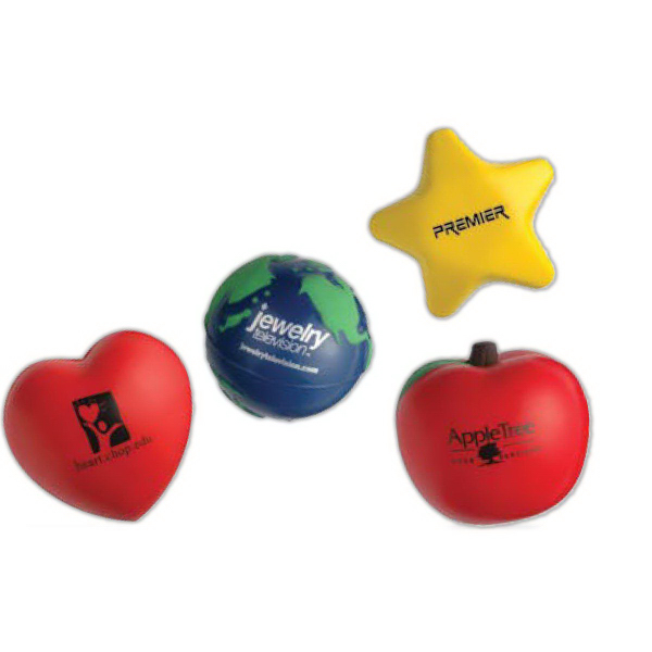 Star Stress-Shape Relievers
