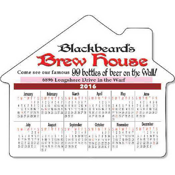 Large House with Calendar (Series 080)