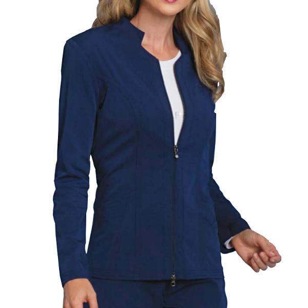 Sapphire Melrose Notched Warm-Up Jacket