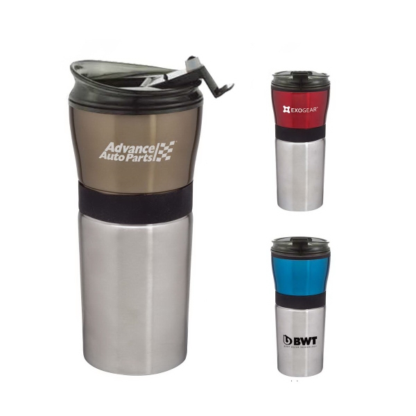 Barista 16oz. Stainless Steel Tumbler with Plastic Liner
