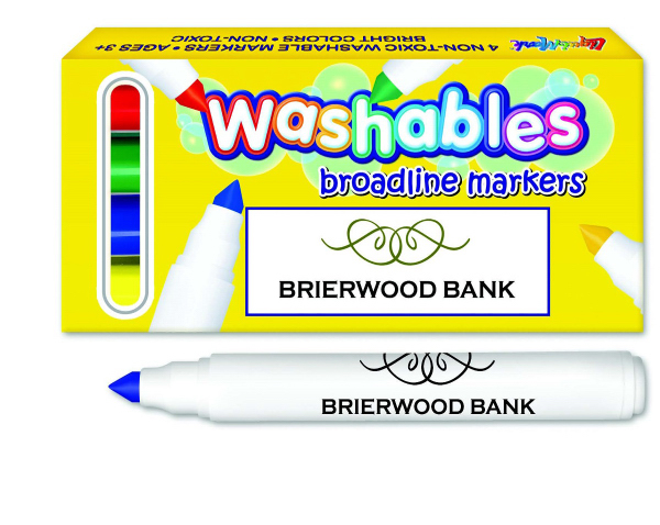 Washable Marker Four Pack - USA Made