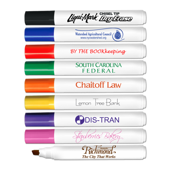 Copy of Dry Erase Chisel Tip  Marker
