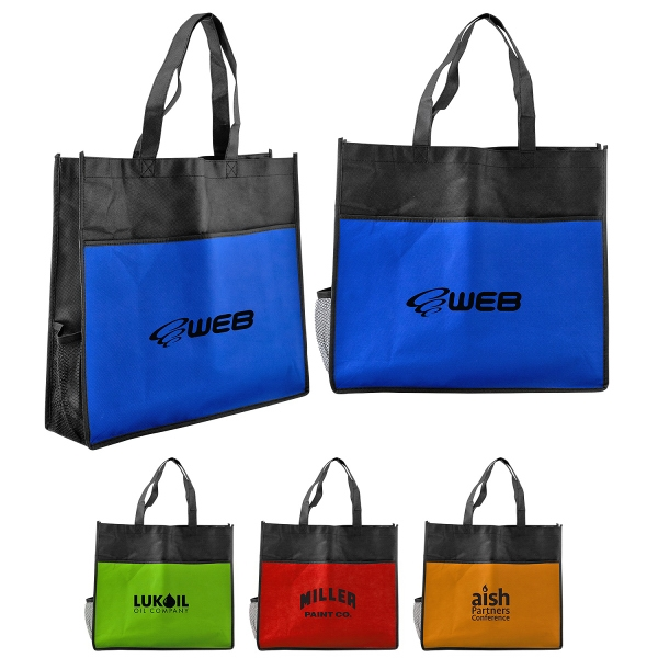 Bottle Holder Shopping Tote