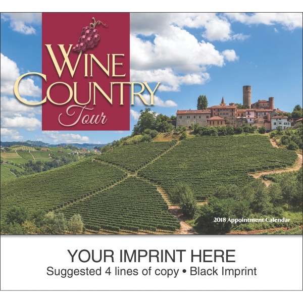 Wine Country Tour appointment calendar