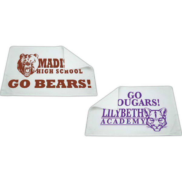 "Rally Towel - 11"" x 18"" Hemmed Ends"
