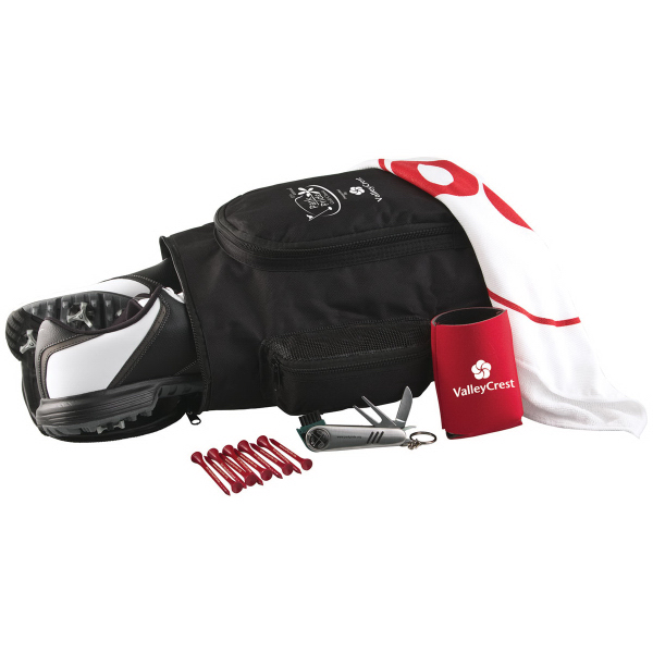 Deluxe Shoe Bag Kit w/ Wilson Ultra Distance Golf Ball