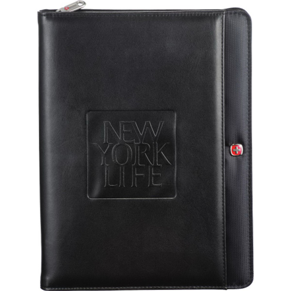 Wenger(R) Tech Zippered Padfolio