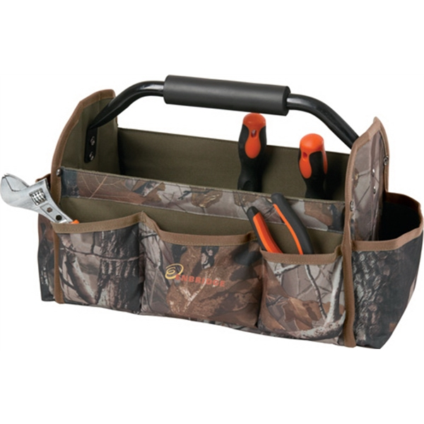 "15"" Collapsible Camo Tool Bag"
